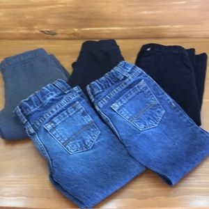 Other - 5 Pairs Boys Size 4 pants and sweatpants